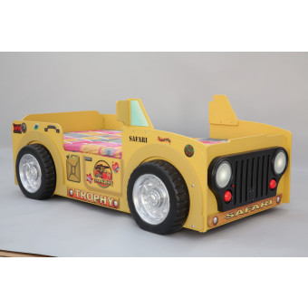 Safari kinder auto bed incl matras