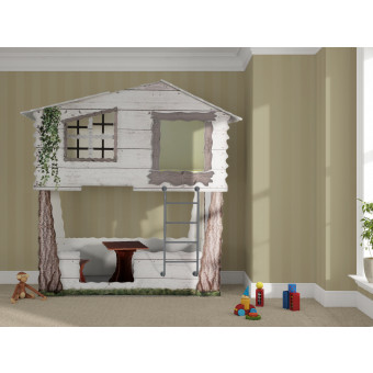Treehouse kinder Bed incl matras