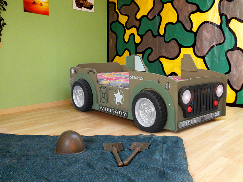 jeep kinder auto bed incl matras