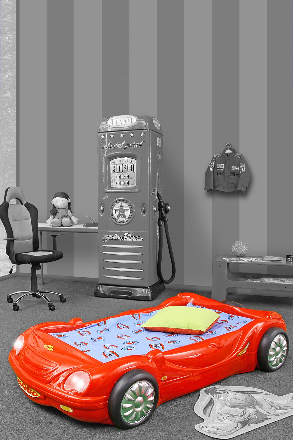 kinder auto bed incl matras