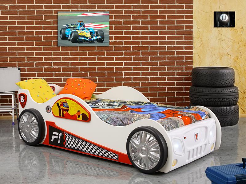 monza kinder auto bed incl matras