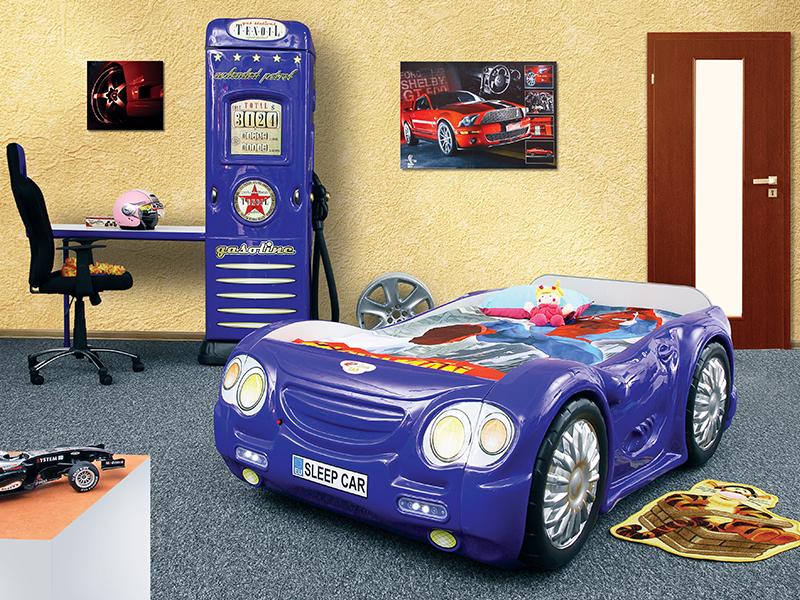 sleepcar kinder auto bed incl matras