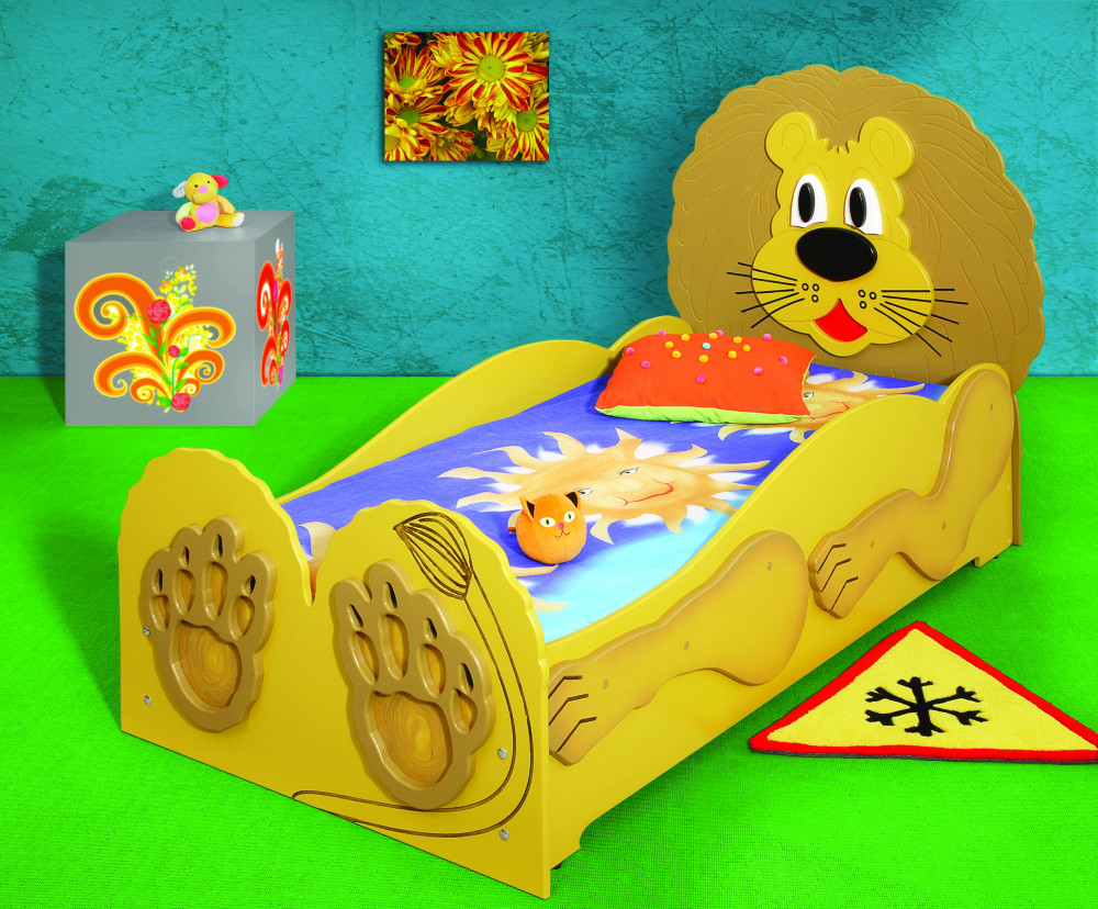 Tienerbed Incl Matras.Lion Kinder Bed Incl Matras