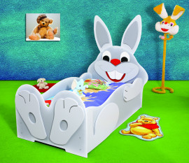 Rabbit kinder bed incl matras