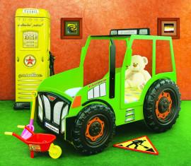 Tractor kinder auto bed incl matras