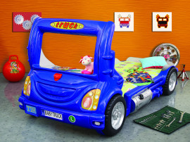 Truck kinder auto bed incl matras