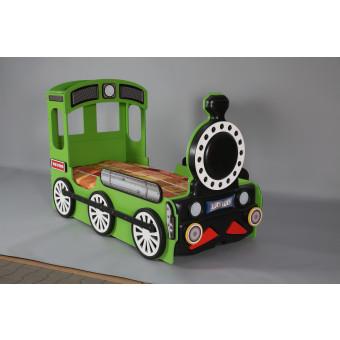Lokomotive kinder bed incl matras