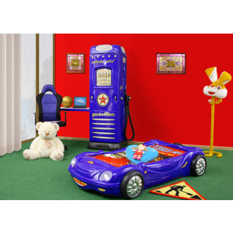 Bobo kinder auto bed incl matras