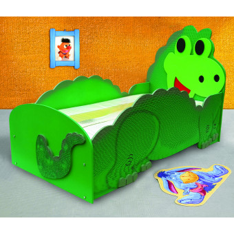 Dino kinder bed incl matras