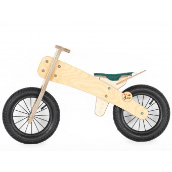 houten loopfiets dipdap 2-4