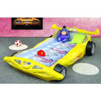 Formula 1 kinder auto bed incl matras