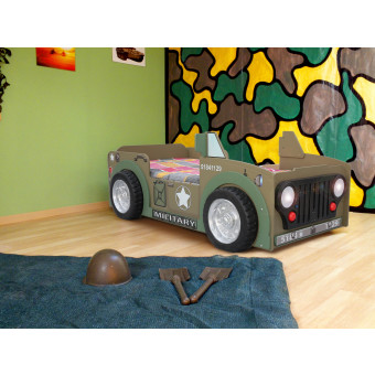 Jeep kinder auto bed incl matras