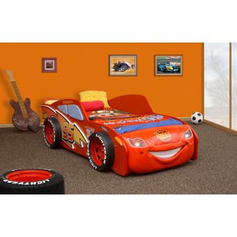 McQueen MDF kinder auto bed incl matras