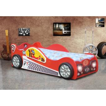 Monza-mini kinder auto bed incl matras