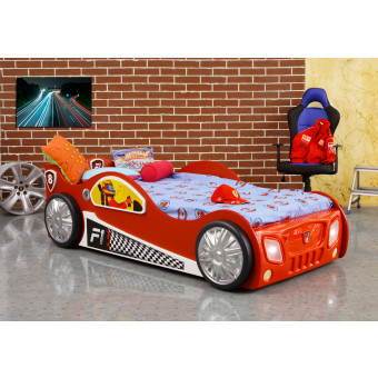 Monza kinder auto bed incl matras