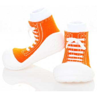 Babyschoenen.Sneakers.Oranje.01