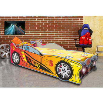 Speedy kinder auto bed incl matras