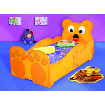 Bear kinder bed incl matras