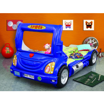 Truck kinder auto bed incl matras