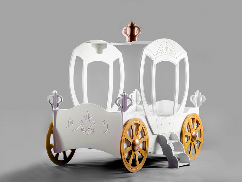 princess carriage kinder bed incl matras